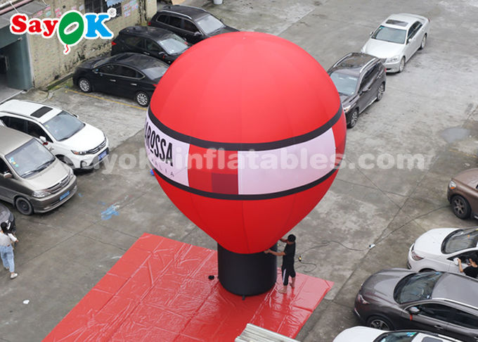 Oxford Cloth 7m Falling Earth Inflatable Balloon For Outdoor Decoration