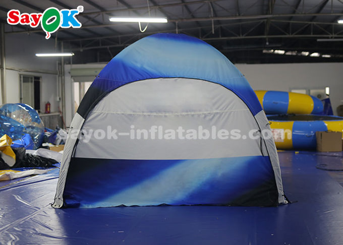Outdoor Camping Four Legs Inflatable Air Tent UV Resistant Moisture Proof