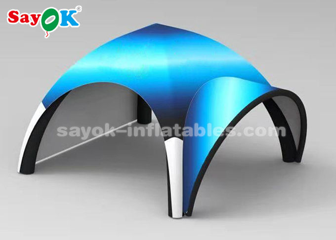 Customized Portable X Shape Inflatable Air Tent For Trade Show Easy Assemble