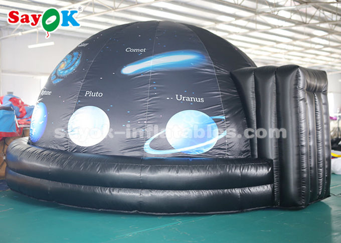 Full Printing 4m Inflatable Planetarium Dome for School Astronomy Teaching