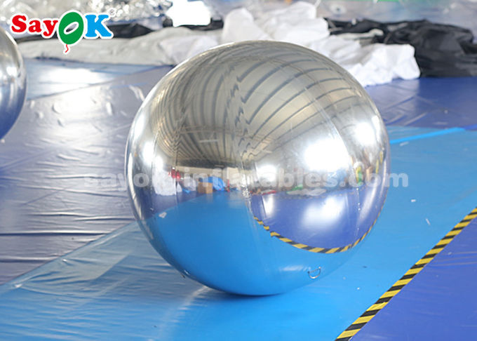 Customized PVC  Inflatable Balloon For Mall Decoration Round Shape