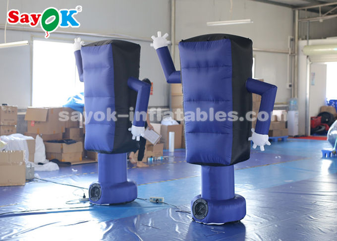 Promotion Inflatable Cartoon Characters 2m Traffic Light Model CE