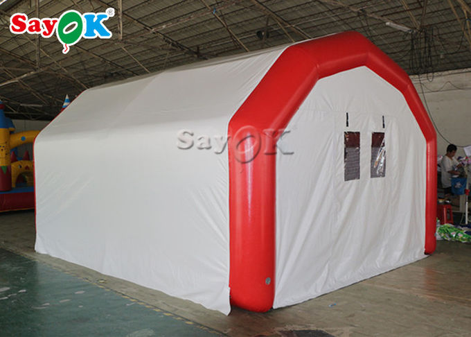Large Airtight Mobile Hospital Inflatable Medical Tent To Set Medical Beds 1