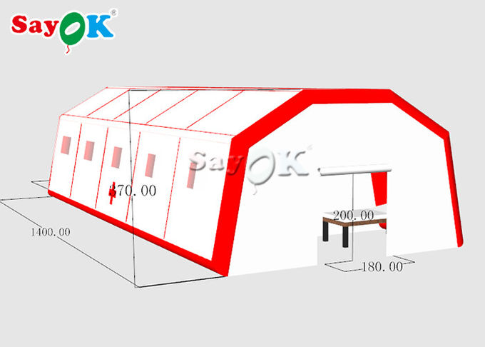 Gaint Fast Built Inflatable Air Tent To Set Patients CE SGS ROHS 1