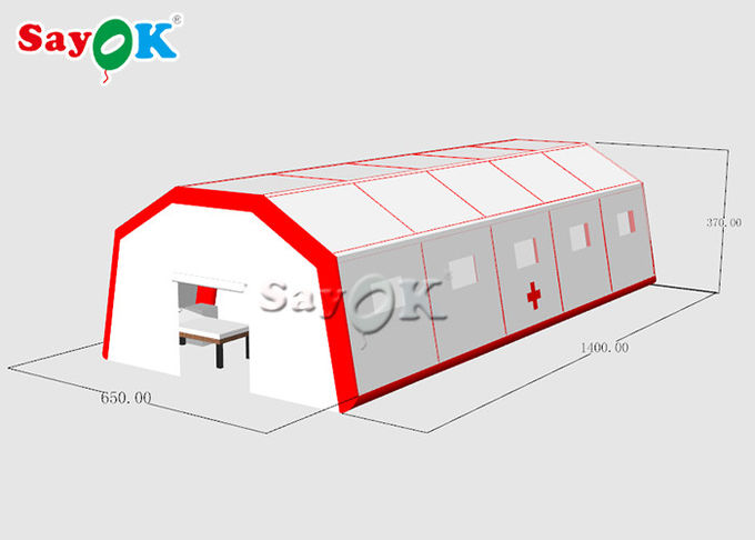 Gaint Fast Built Inflatable Air Tent To Set Patients CE SGS ROHS 2