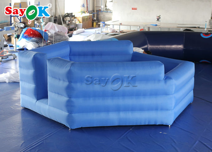 Durable Oxford Cloth Outdoor Inflatable Sports Games /  Inflatable Gaga Ball Courts 1