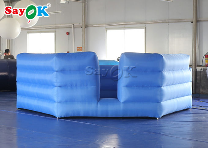 Durable Oxford Cloth Outdoor Inflatable Sports Games /  Inflatable Gaga Ball Courts 0