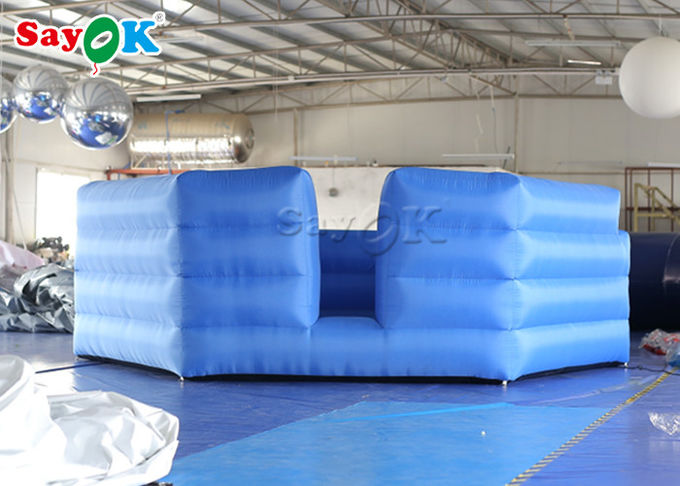 Durable Oxford Cloth Outdoor Inflatable Sports Games /  Inflatable Gaga Ball Courts 2