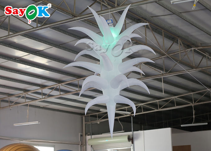 2.5M  Inflatable Lighting Decoration LED Light Star For Event Party 0