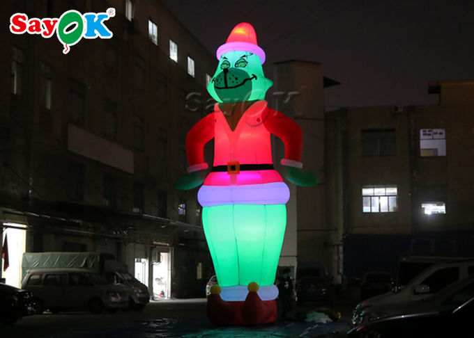 Custom 8.5M Outdoor Christmas Decoration Inflatable Cartoon Character  Model 0