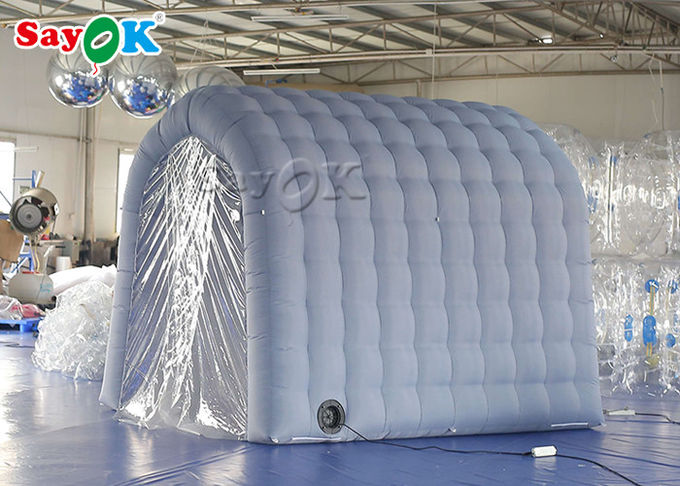 White Inflatable Medical Tent Disinfection Tunnel For Hospital Equipment